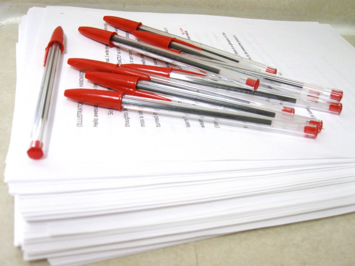 PD Session: Lose the Red Pen! Go Digital in Grading Writing.