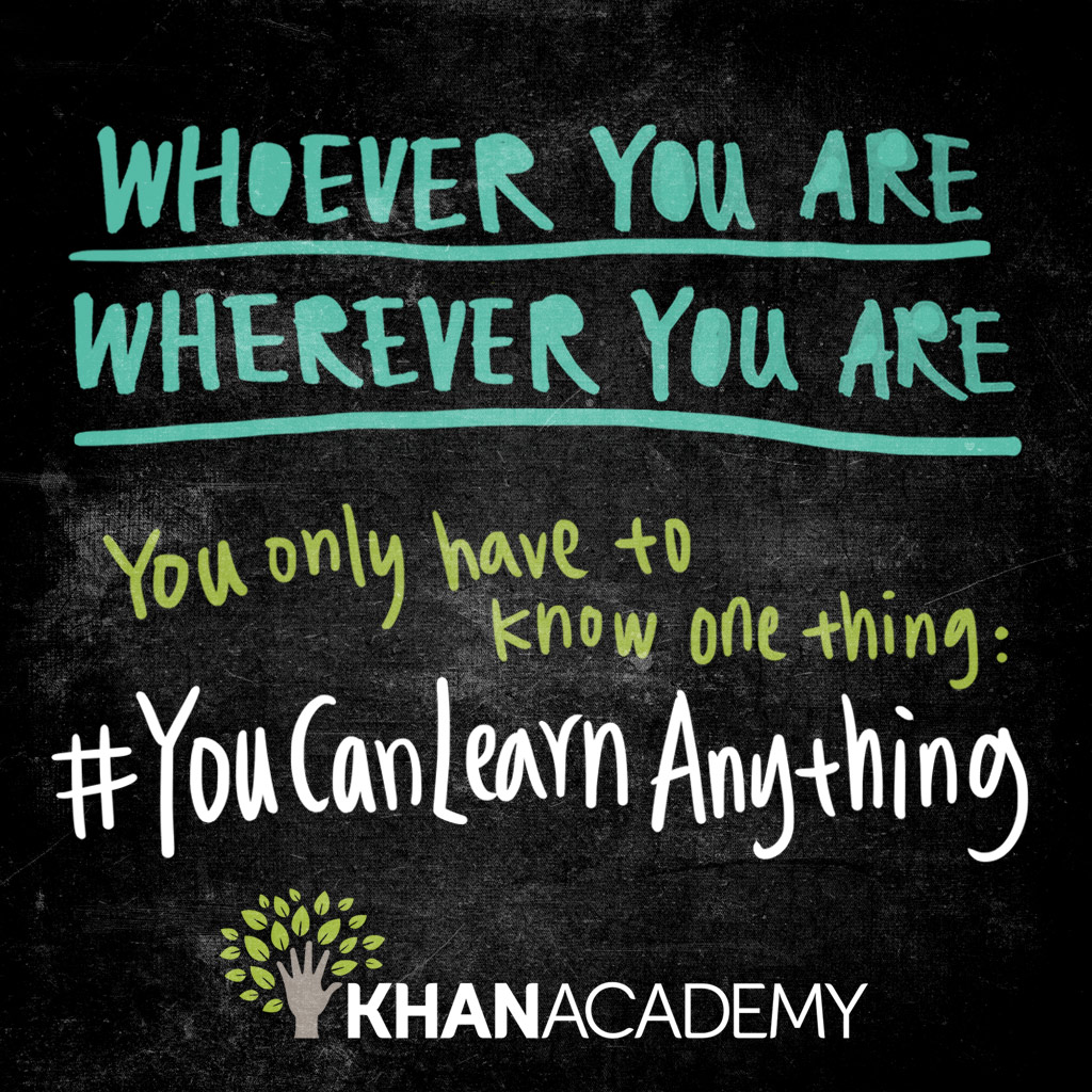 PD Session: You Can Do It with Khan Academy!
