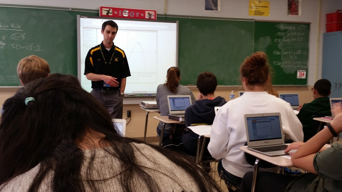 Teacher Showcase: Digital AP Math with Greg Christy