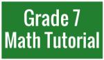 G7 Math Button
