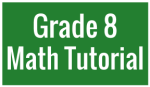 G8 Math Tutorial Video Button
