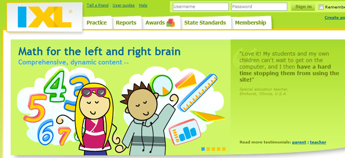 IXL Math for Individual StudentLearning