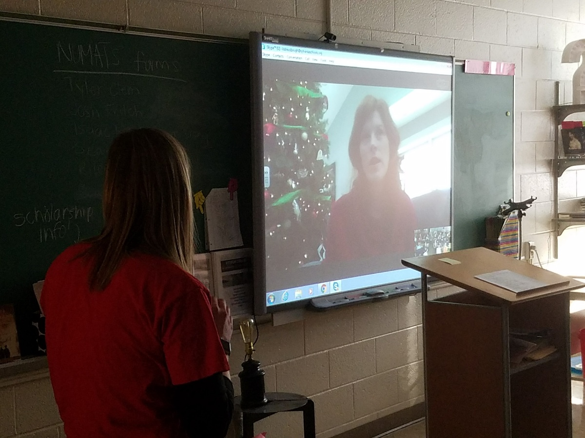 Connecting in the Classroom with Google Hangouts and Skype